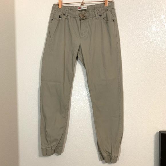 Levi's Other - Levi's   Boys Tan Jogger Style Pants Size XL
